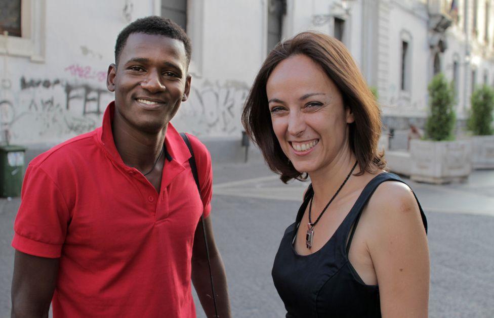 Yahya and Barbara Sidoti