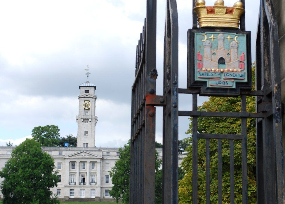 University of Nottingham building
