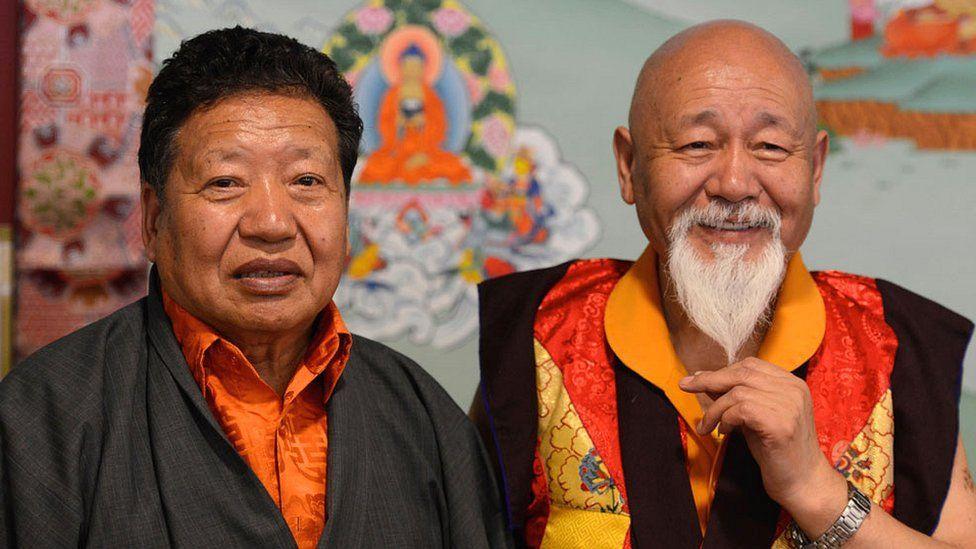Akong Rinpoche and Lama Yeshe