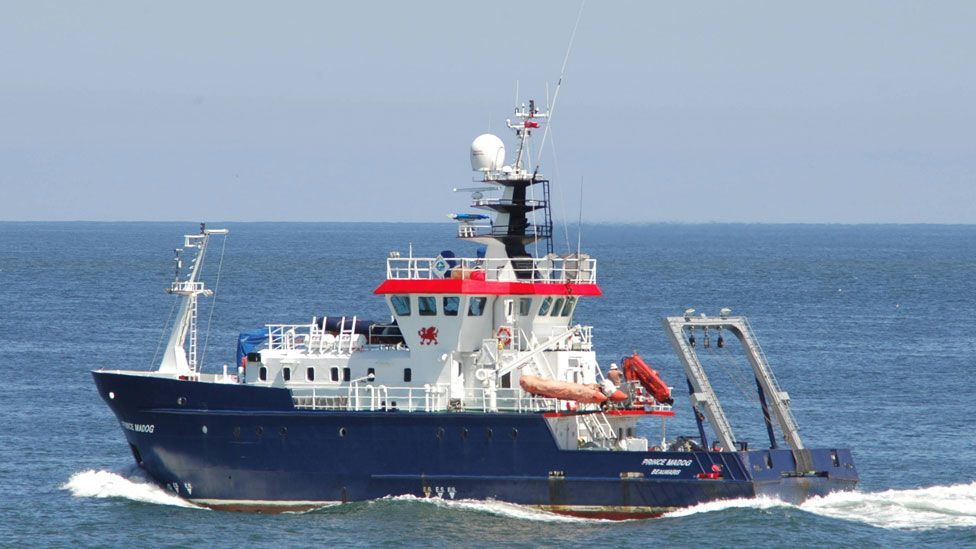 Prince Madoc research ship