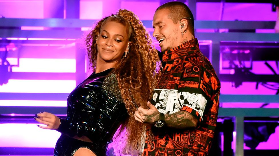 Beyonce and J Balvin perform at Coachella