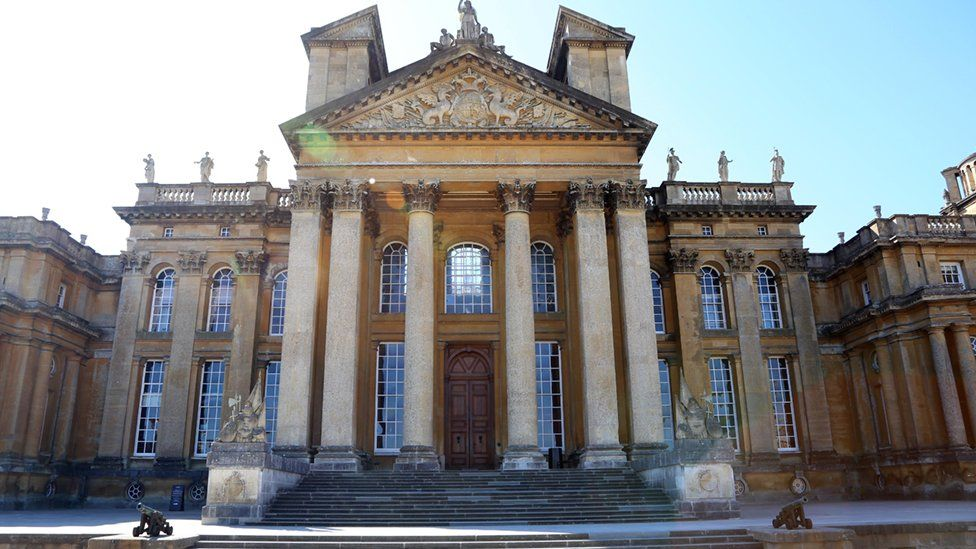 North Steps at Blenheim Palace