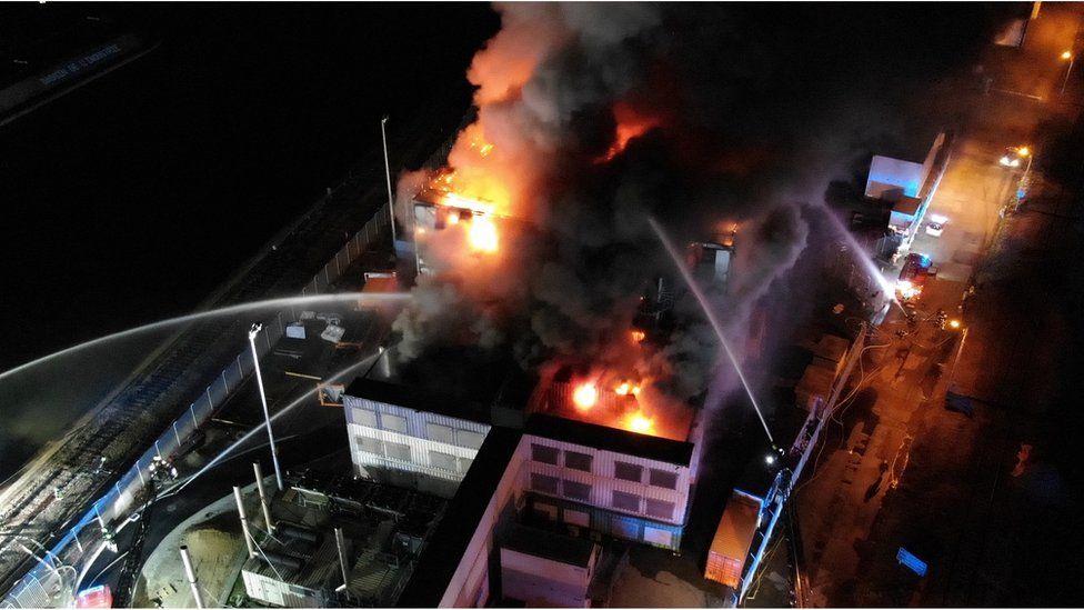 Date Centre fire