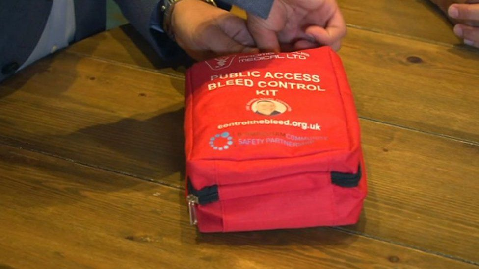 The bleed control kit will be placed in Birmingham bars