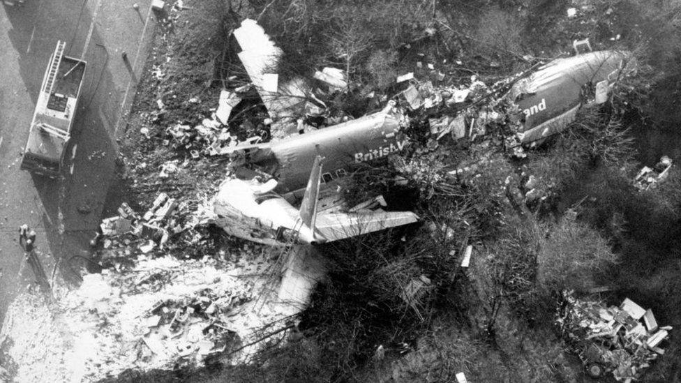 Kegworth crash site