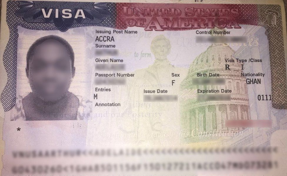 Us Imposes Visa Restrictions On Ghana Over Deportee Row Bbc News