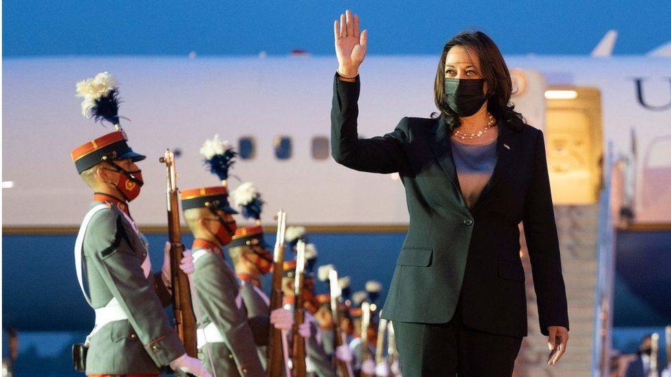Vice President Kamala Harris visit to Mexico