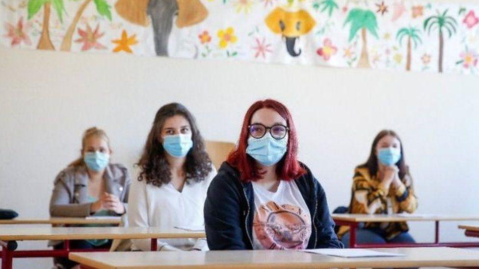 pupils in Belgium