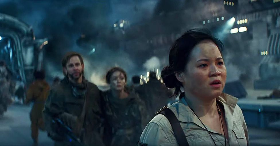 Dominic Monaghan, Billie Lourd, Kelly-Marie Tran