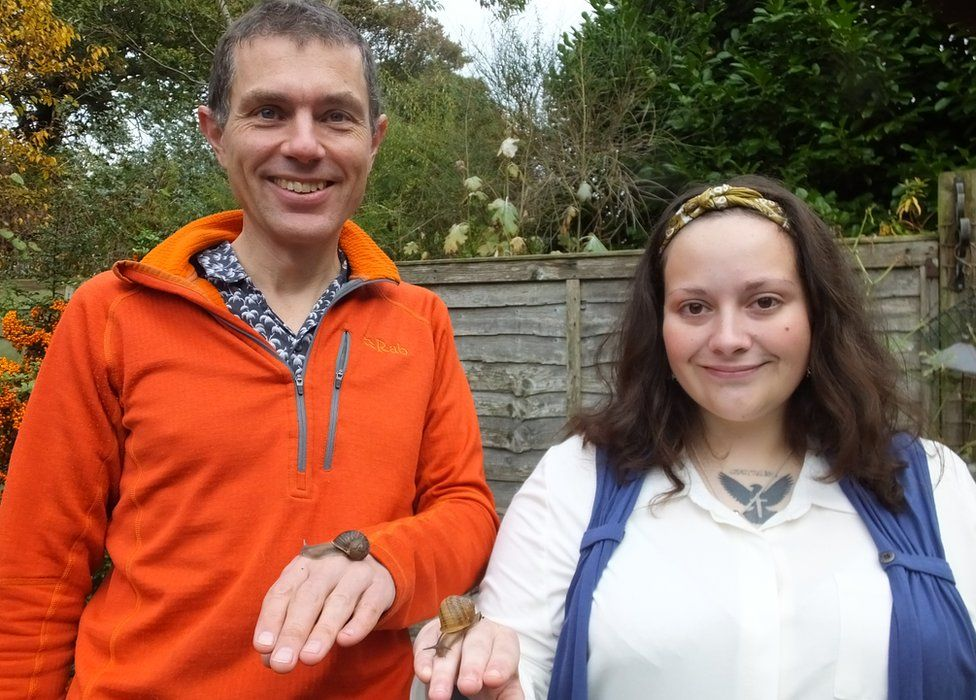 Angus Davison and Jade Melton in Suffolk