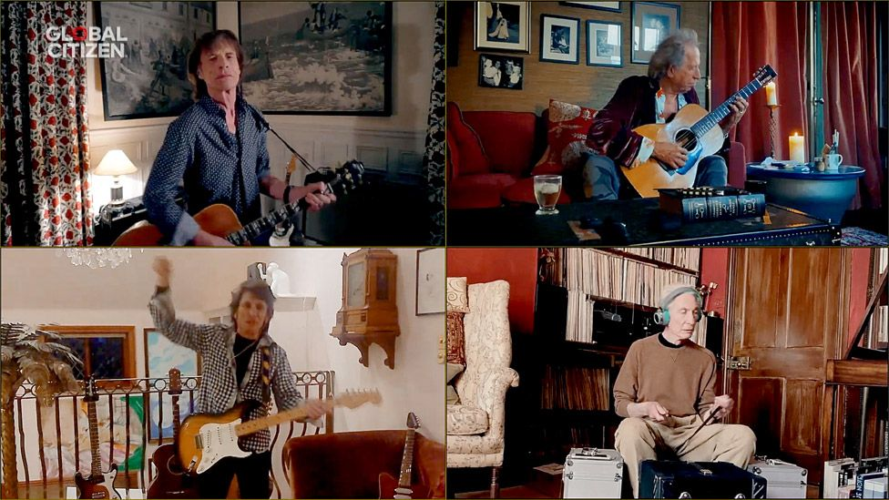 Rolling Stones at Together At Home