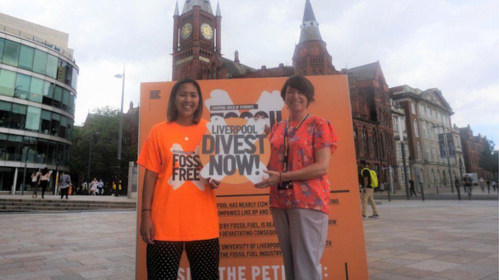 Fossil fuel campaign