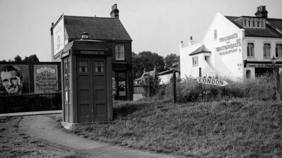 A police box in the 1930s