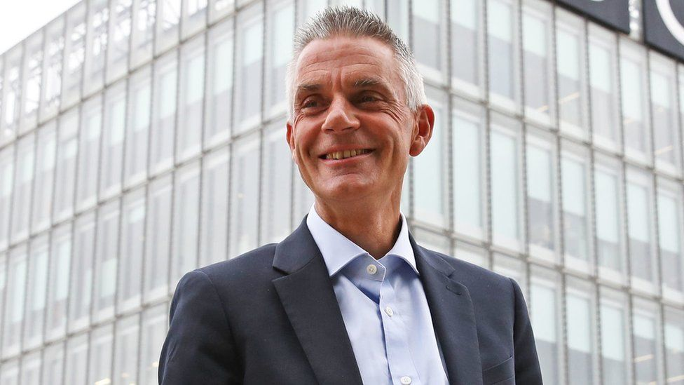Tim Davie replaced Tony Hall as director general of the BBC this year