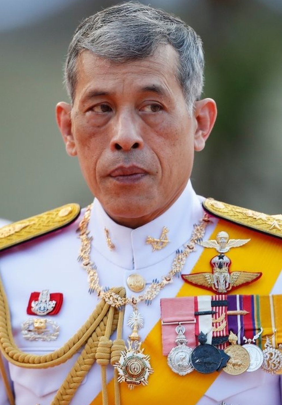 Thai King Rama X marks Chakri Memorial Day ahead of his coronation ceremonies in Bangkok
