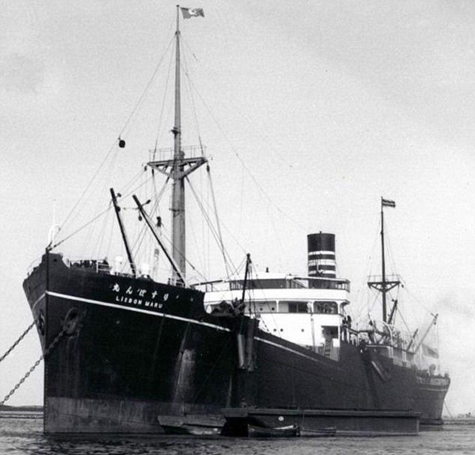 The Lisbon Maru