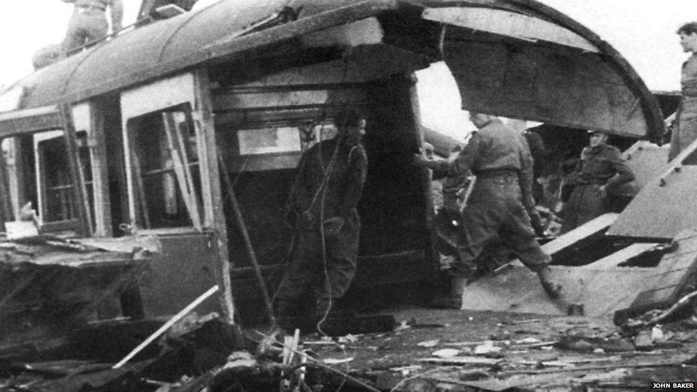 Train crash 1940