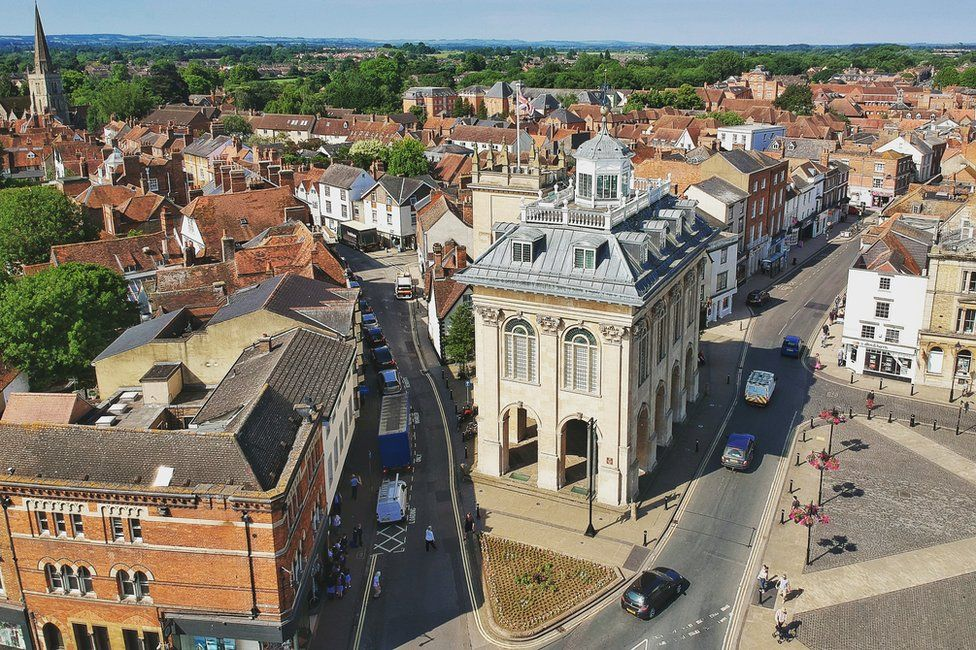 Aerial view of Abingdon