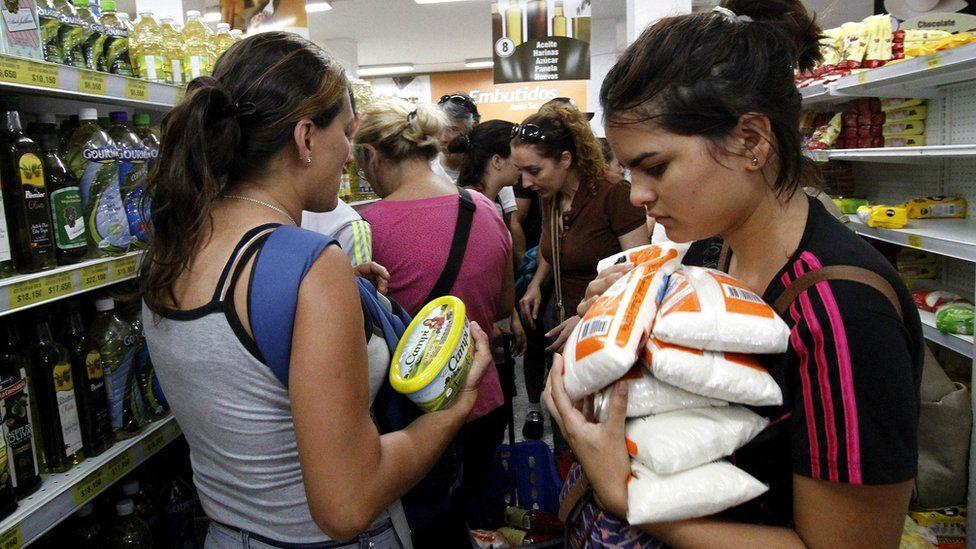 Supermarket in Venezuela