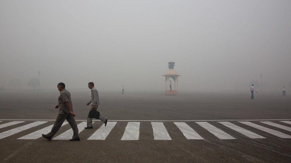 Smog in Delhi, India (Image: AP)