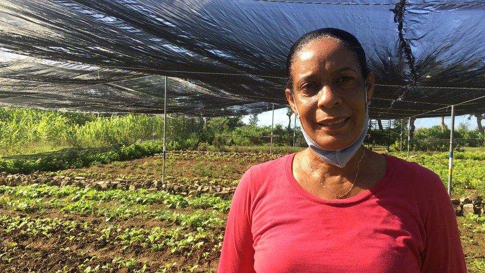 Iris Fonseca at Finca Vista Hermosa