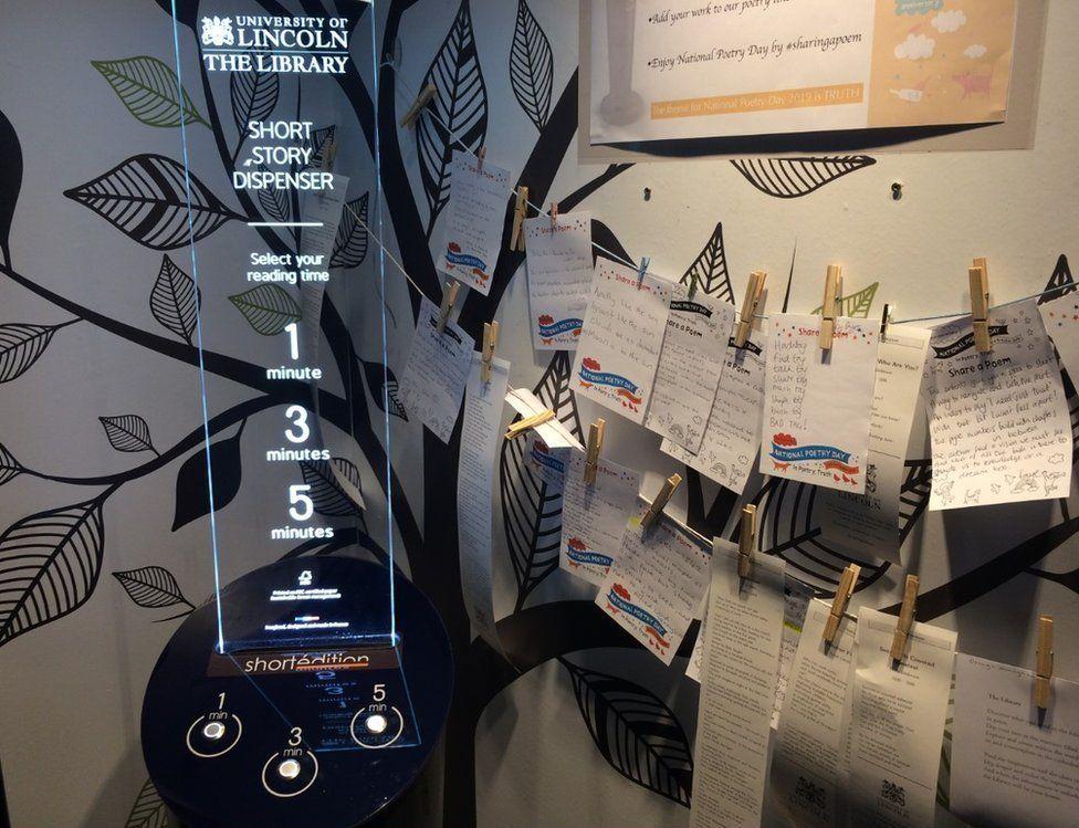 Story vending machine