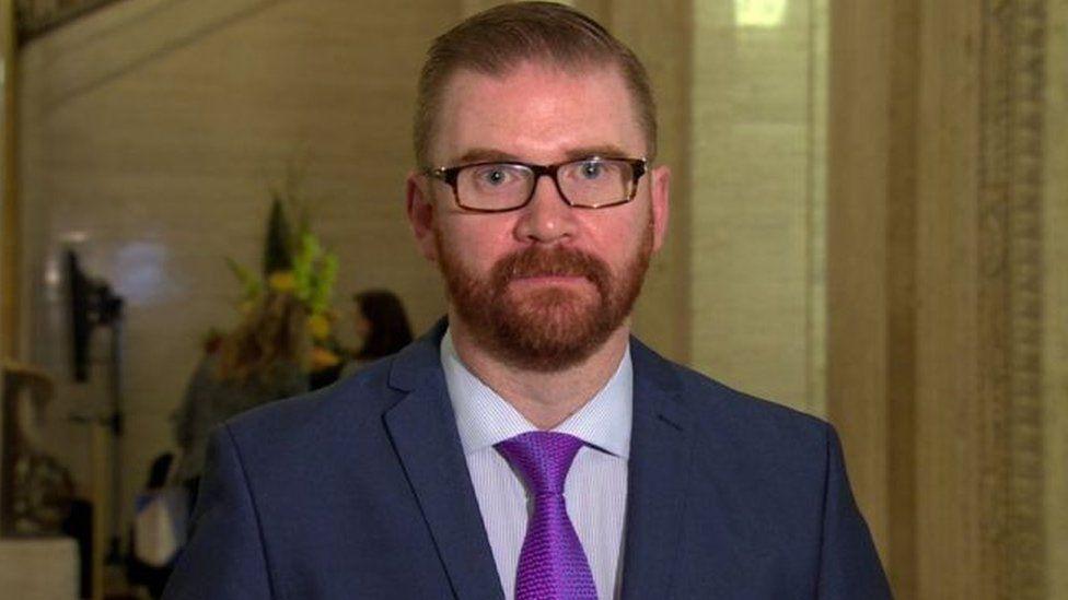 Economy minister Simon Hamilton