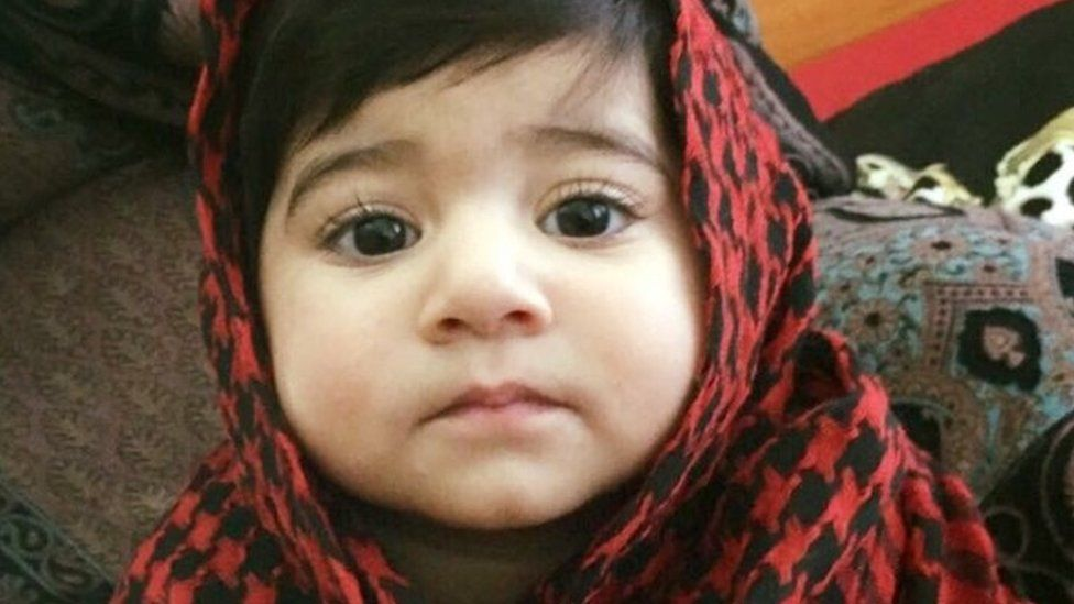 Inaya Ahmed - picture from gofundme page