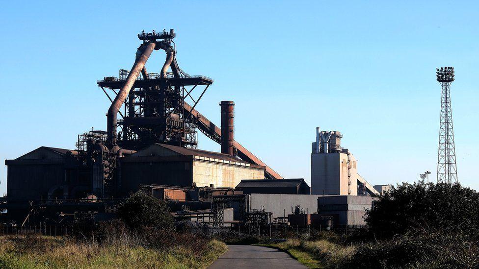 SSI UK steel blast furnace site, Redcar