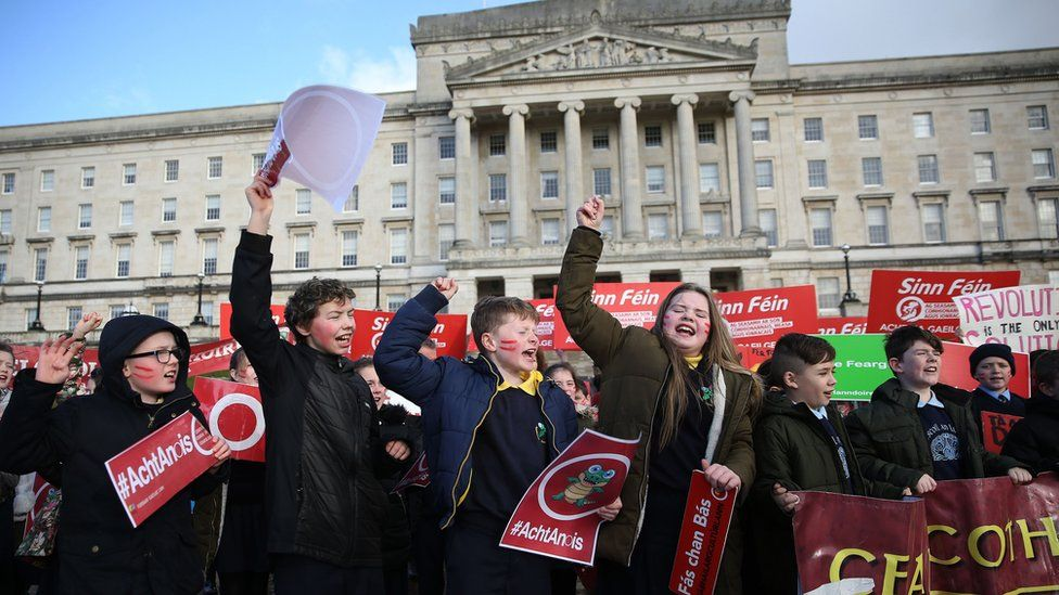 Irish Language Act campaigners