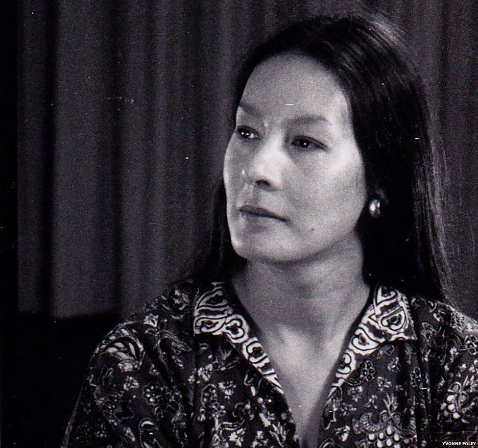 Yvonne Foley, photographed here in the 1970s