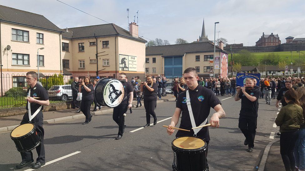 Easter Sunday commemoration in Derry