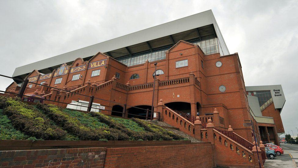 Aston Villa's famous Holte End terrace was originally designed by Leitch's firm