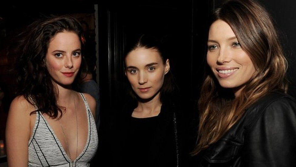 Kaya Scodelario, Rooney Mara and Jessica Biel