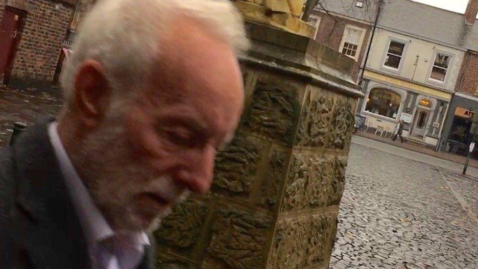 Andrew Lanham outside Carlisle Crown Court