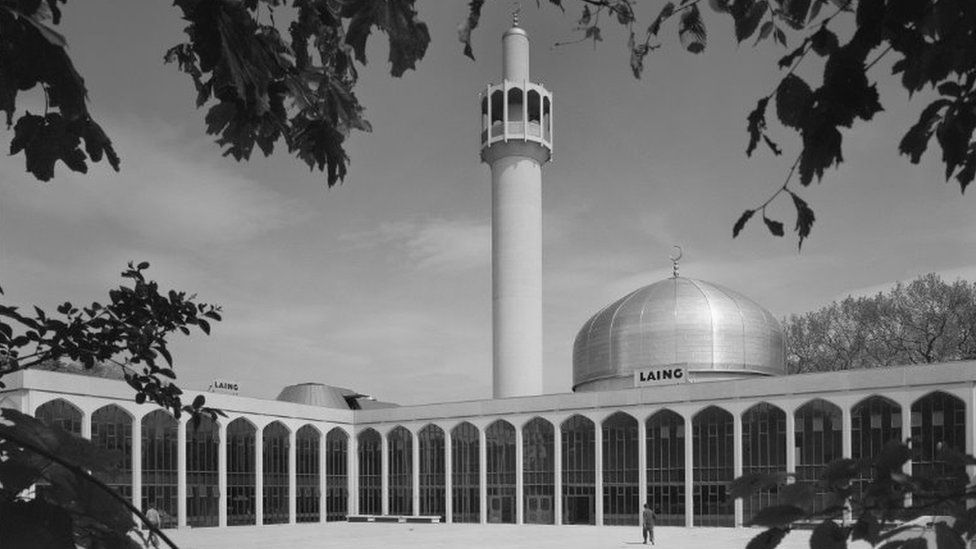 Completed mosque