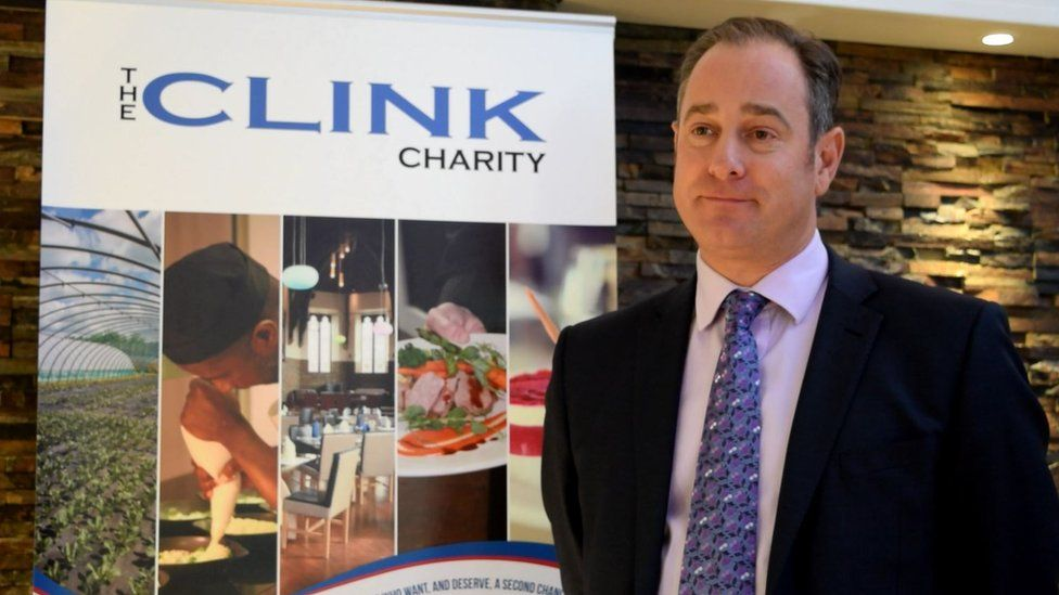 The Clink Charity chief executive Chris Moore