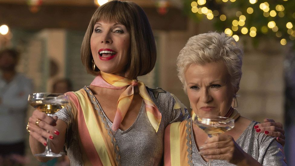 Christine Baranski and Julie Walters in Mamma Mia! Here We Go Again
