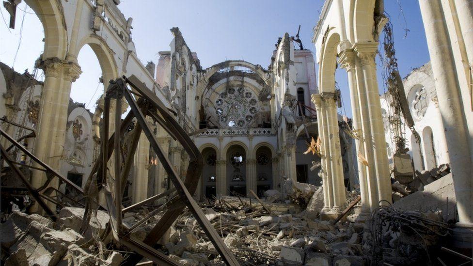 Haiti after 2010 earthquake