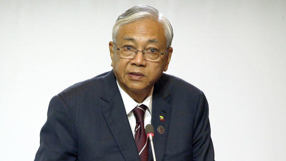 Myanmar's President Htin Kyaw