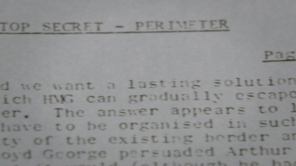 The Troubles: Army chief's secret memo called for NI 'escape'