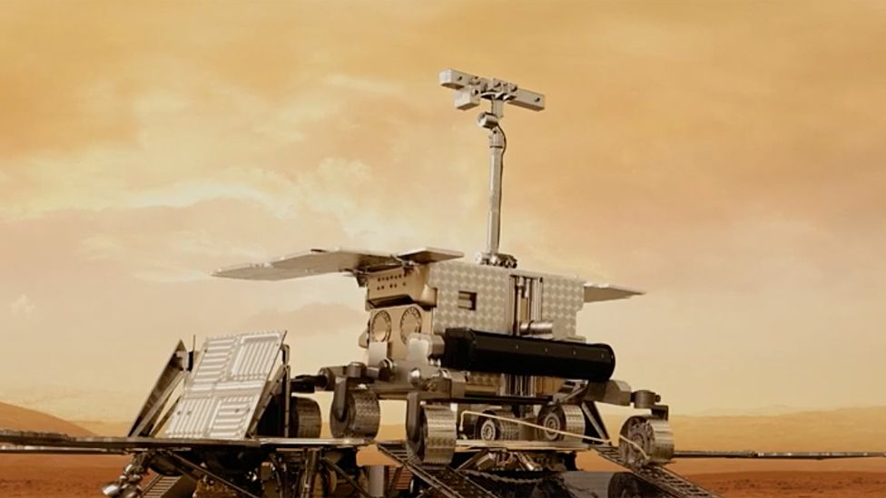ExoMars rover artwork