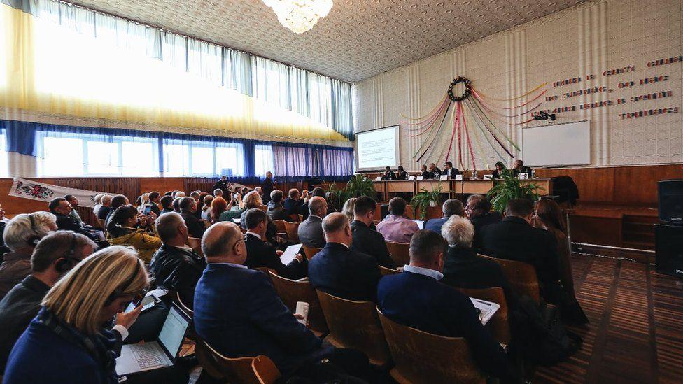 Reunión en Narodichi