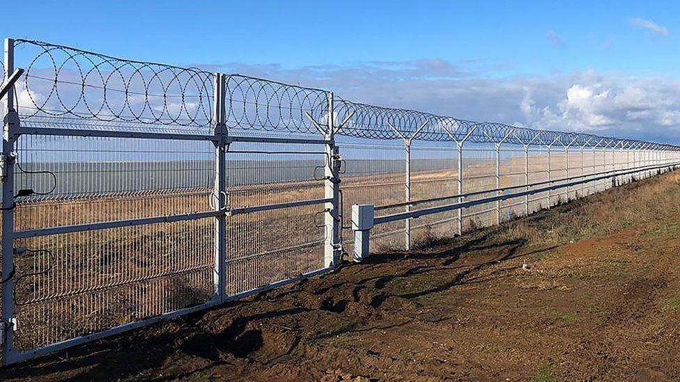 New Crimea border fence, 28 Dec 18