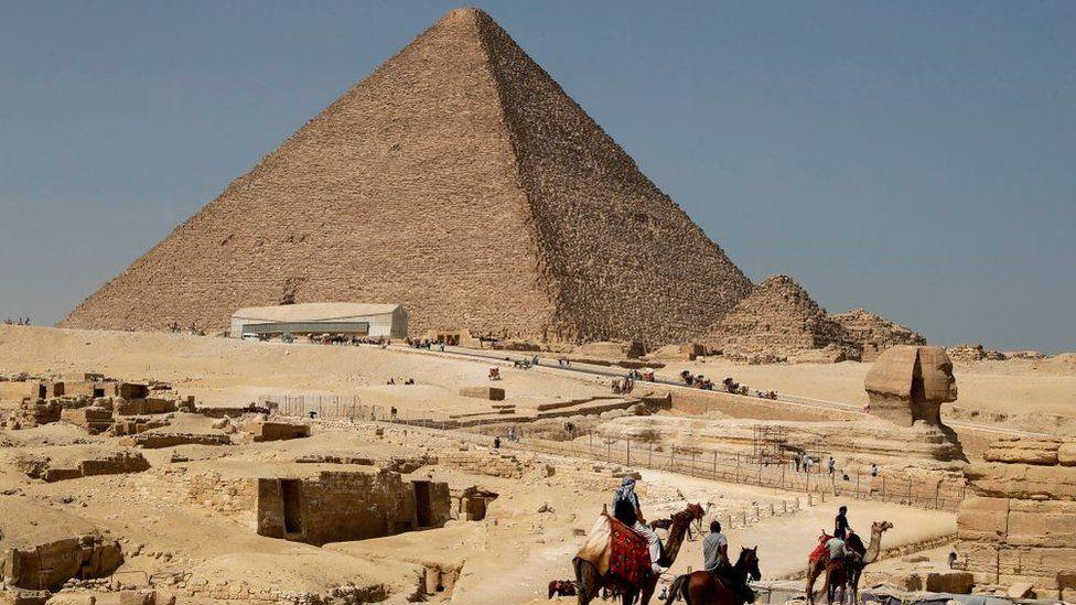 Pirámides de Egipto: el descubrimiento al azar que arroja nueva luz sobre el misterio de su construcción