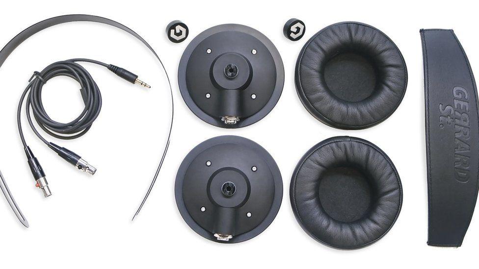 Gerrard Street headphone components