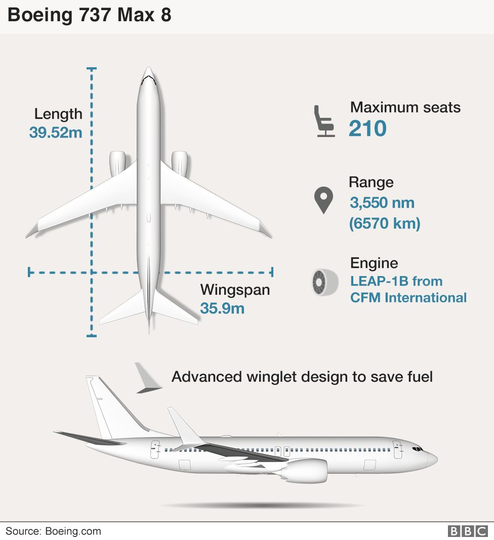 Ethiopian Airlines 737 Max crash: Six charts on what we know so far 106008155 boeing 737 infographic v3 976