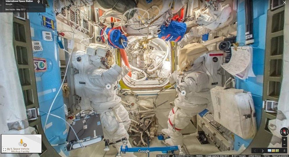 ISS Street View