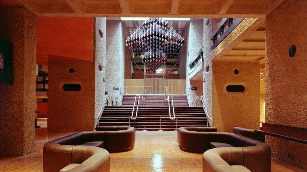 Interior of arts centre