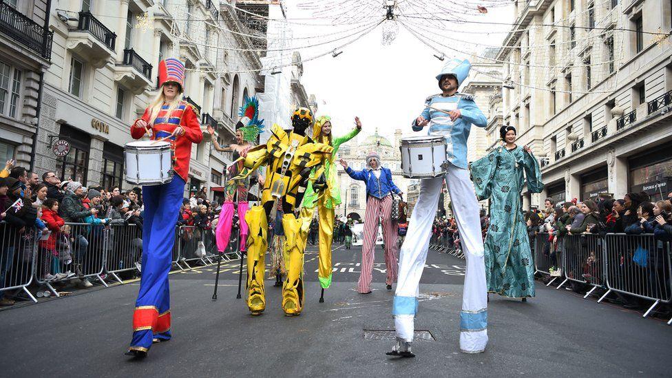 London New Year parade